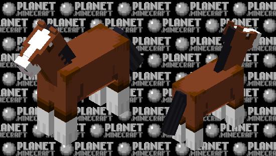 Clydesdale Minecraft Skin