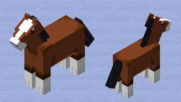 Clydesdale Minecraft Mob Skin
