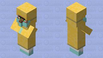 Hazmat Suit Villager - Corona Virus Pandemic Minecraft Mob Skin