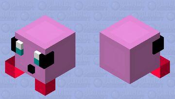Kirby Minecraft Mob Skin