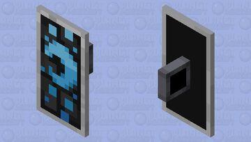 Midnight Blue Shield Skin (not original) Minecraft Mob Skin