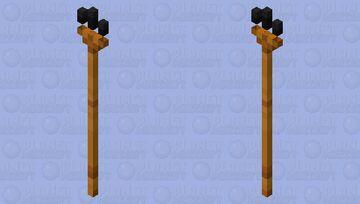 Lava Trident Minecraft Mob Skin