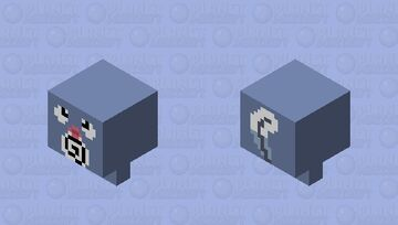 Poliwag (Pokemon) Minecraft Mob Skin