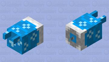 Water Dispenser Bee Minecraft Mob Skin