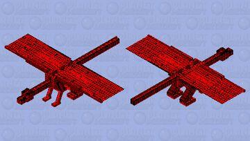 nightmare dragon Minecraft Mob Skin
