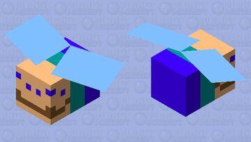 (my new pfp) Cursed Sbeeve Minecraft Mob Skin