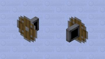 Minimalist Shield Minecraft Mob Skin