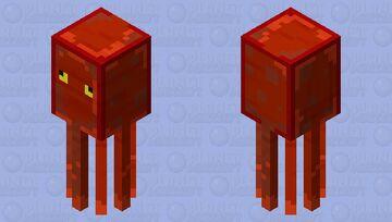 Octopus Minecraft Mob Skin