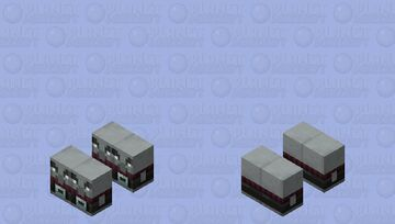 Army of Exploding Baby Pillagers Minecraft Mob Skin
