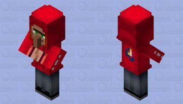 Hoodie Villager Minecraft Mob Skin