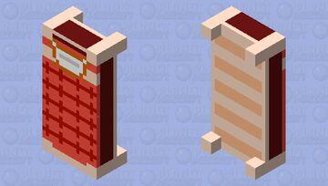 Undertale bed (Java) Minecraft Mob Skin