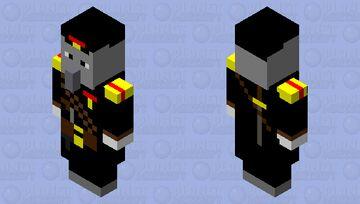 illiger army officer commander Minecraft Mob Skin
