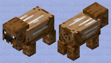 Chewbacca Boar/Pig Minecraft Mob Skin
