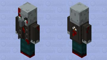 Battle Damage Vindicator #1 Minecraft Mob Skin