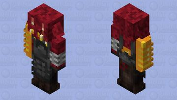 Ar-Baruk the piglin demon of glutony Minecraft Mob Skin