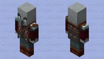 Pillaging Vindicator Minecraft Mob Skin