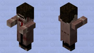 Zombie Wandering Trader (The Asylum) Minecraft Mob Skin