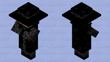Dark Villager Nose Job Minecraft Mob Skin