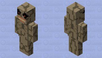 Binding of Isaac - Famine Minecraft Mob Skin