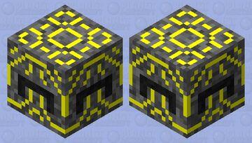 Hyper Tech Shulker Minecraft Mob Skin