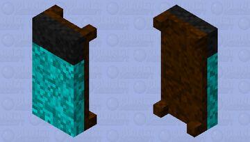 Dark oak bed Minecraft Mob Skin