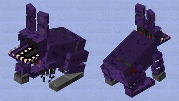 Withered bonnie fnaf Minecraft Mob Skin