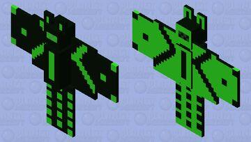 techno B.A.T Minecraft Mob Skin