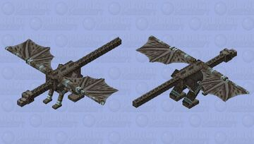 Nightmare Ravadragon Minecraft Mob Skin
