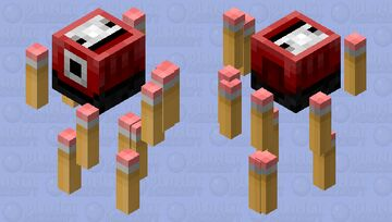 Pencil Sharpener from Hell Minecraft Mob Skin