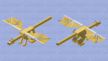real fixed DogeDragon Minecraft Mob Skin