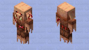 Ghost Piglin Minecraft Mob Skin