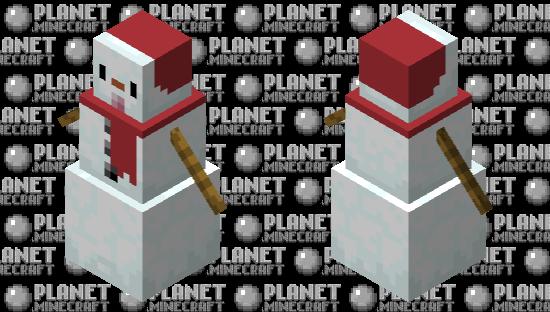Cute snow boi Minecraft Skin