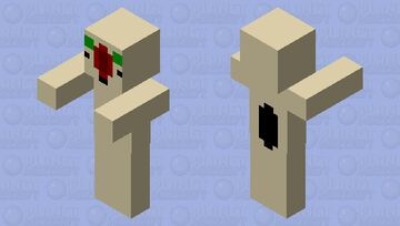 SCP 173 Minecraft Mob Skin
