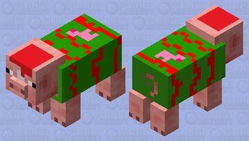 Christmas Piggy! so cute🐷 Minecraft Mob Skin