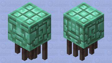 Flying Head of Bolo Tiku Minecraft Mob Skin