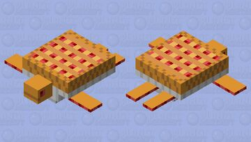 Cherry Pie Turtle Minecraft Mob Skin