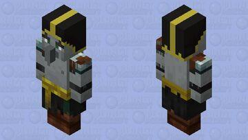 Desert Evoker Minecraft Mob Skin