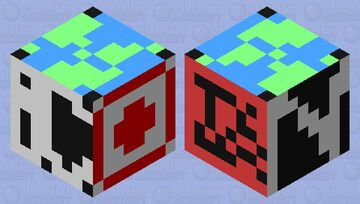Versus Global Health NBCSN 2010 2013 Minecraft Mob Skin