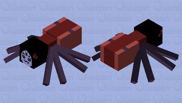 Muffet Minecraft Mob Skin