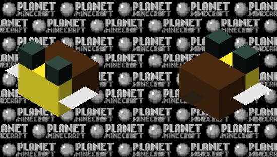 Tiny Bee Minecraft Skin