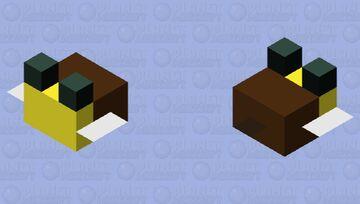 Tiny Bee Minecraft Mob Skin