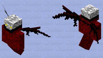 Satanic Angel Assassin Minecraft Mob Skin