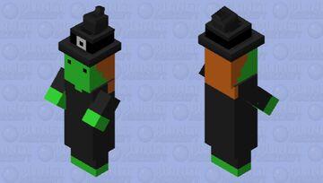 Scribblenauts - Witch Minecraft Mob Skin