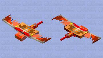 Phoenix Phantom Minecraft Mob Skin