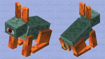 Rabbian (Rabbit Guardian) Minecraft Mob Skin