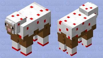10 Year Anniversary Cake Minecraft Mob Skin