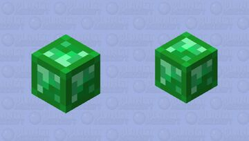 Emerald Block Minecraft Mob Skin
