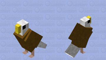 Bald eagle Minecraft Mob Skin