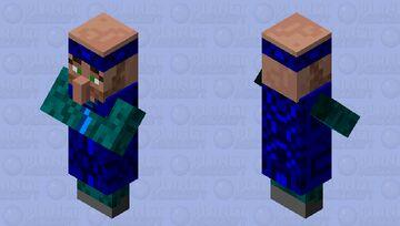 Blue Sushi Villager Minecraft Mob Skin