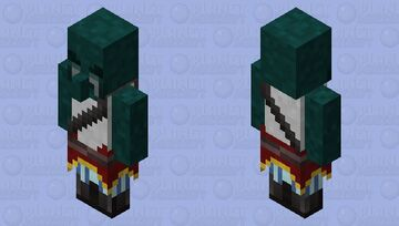 Zombie Corsair Minecraft Mob Skin